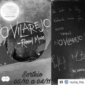 Promoção - Sorteio O Vilarejo de Raphael Montes