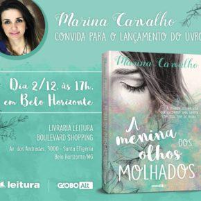 """Lançamento do livro """" A Menina dos Olhos Molhados"""" em Belo Horizonte"""