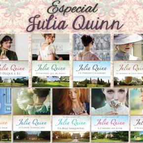 Sorteio Especial Julia Quinn