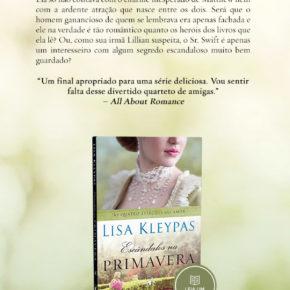 """Lançamento do livro """"Escândalos na Primavera"""" último livro da série """"As Quatro Estações do Amor"""""""