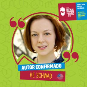 Victoria Schwab (V.E Schwab) Confirmou Sua Presença Na Bienal Do Rio