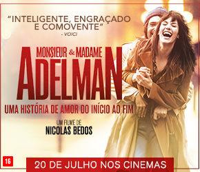 "Trailer do Filme ""Monsieur & Madame Adelman"""