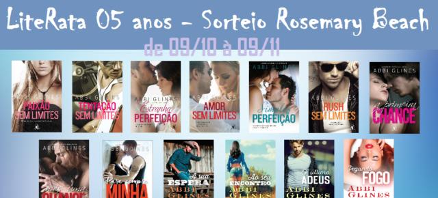 Sorteio - Série Rosemary Beach
