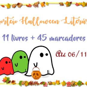Sorteio Halloween Literario