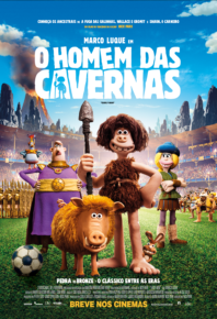 Personagens da pré-história estampam cartazes individuais de 'O Homem das Cavernas'